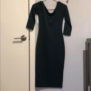 Zara slim fitting dress